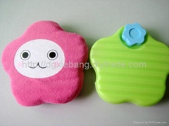 550ml plastic HDPE hot water bottle with five-pointed star shape