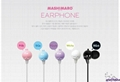 MASHIMARO ME-2011 brand new earphone headset for MP3/MP4 player