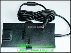 Wholesale-90W DELL AC/DC Adaptor 19.5V 4.62A plum 7.4mm*5.0mm Charger Original