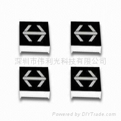 LED arrow display,widely used in guiding direction
