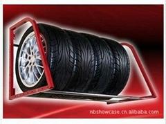 轮胎陈列架子