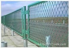 体育场所护栏用钢板网(图)