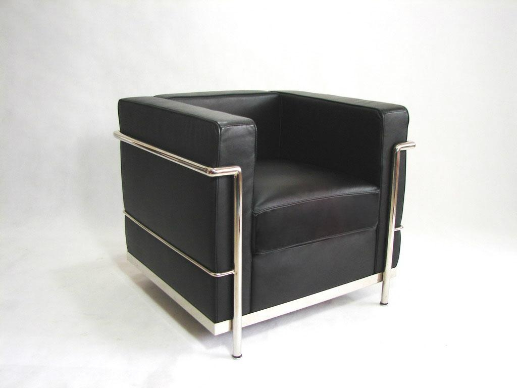 Le corbusier armchair lc2 china manufacturer living for Le corbusier lc2
