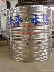 低價直銷不鏽鋼水塔