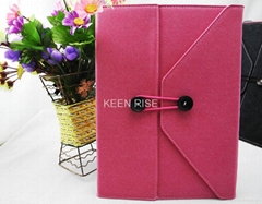 Cloth knot light weight APPLE iPAD 2/3 case cover shelter bag with stand