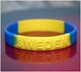 Debossed customized silicone bracelet for customer