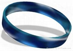 fashion silicone energy smooth bracelets