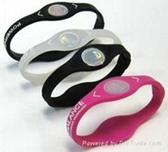 Hot sale silicone balance energy wristband