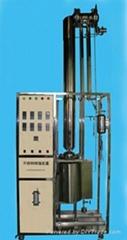 不鏽鋼玻璃精餾實驗裝置