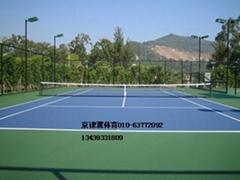 銷售網球場材料