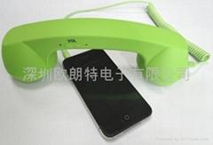 OLT手机大话筒 手机电话听筒 厂家大量供应 3.5手机插口