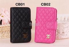 Wholesale Iphone 5 4 4S Case Bag CC Logo More Design Free Shipping