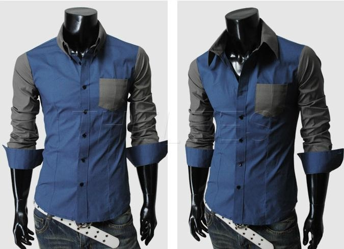 Casual mens dress shirts is shirt for Dress shirt vs casual shirt