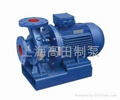 GTWR卧式热水循环泵