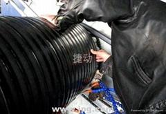 雙平壁塑鋼纏繞管設備