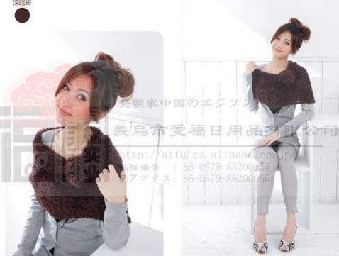 韓國時尚百變圍巾   3