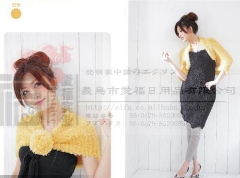 韓國時尚百變圍巾   4