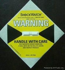 防震动标签shockwatch25G