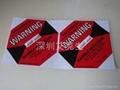 美國進口 防震動標籤紅色 50