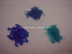 Blue Glass Beads Pebble for Swimming Pool