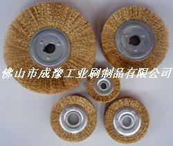 鍍銅鋼絲輪 鋼絲刷 1