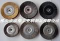 鍍銅鋼絲輪 鋼絲刷 5
