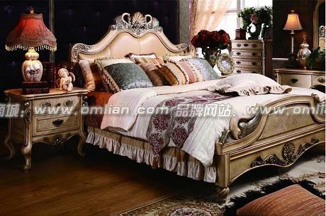 欧式卧室家具组合