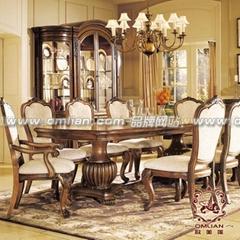 歐式傢具餐廳組合
