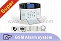 Advanced gsm alarm system for home security