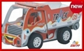 engineering truck paper puzzle 2