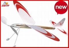 橡觔動力飛機