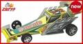mini Formula 1 racers