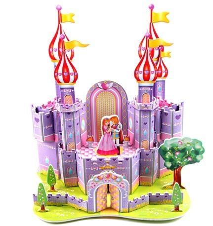 手工制作立体城堡制作步骤