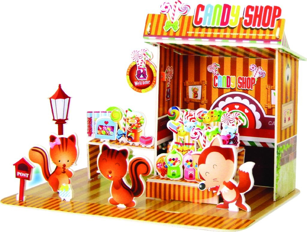 Sweet House 3d Puzzle 567e Zilipoo China Manufacturer