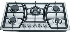 5 Burner Stainess steel Gas hobs