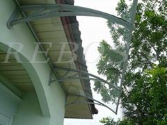 Simple Aluminium canopy
