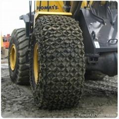 铲车专用轮胎保护链