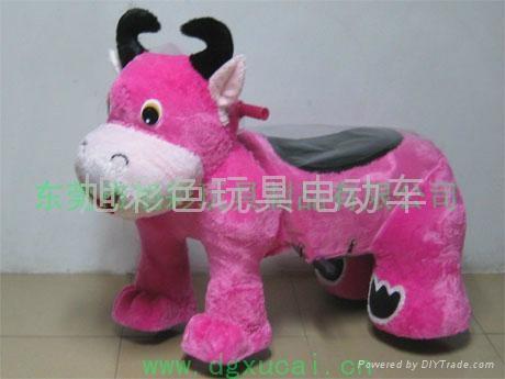 毛绒玩具电动车 5