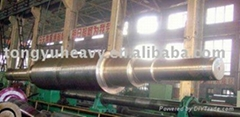 rotor shaft for steam turbine generator