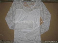 2012時尚熱賣女士打底衫
