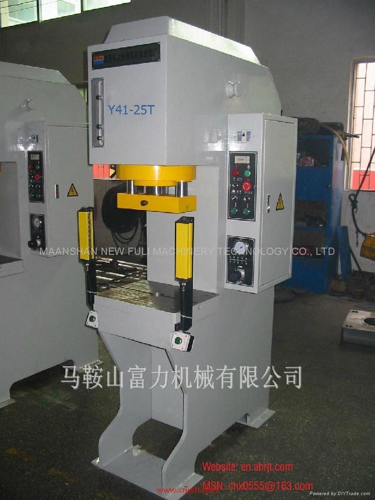 y41系列单柱液压机图片