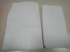 酒店白色浴巾