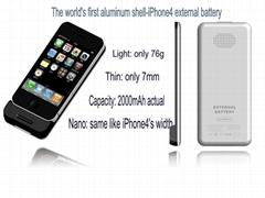 iPhone4/4s  external battery