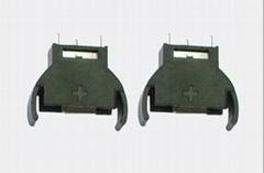 CR2032鋰錳鈕扣電池座-立式