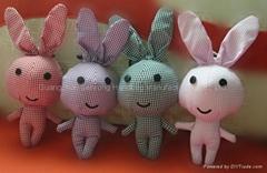 小熊兔子斑馬折疊環保公仔袋