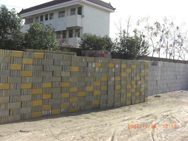 陝西生態環保停車場草坪磚 1