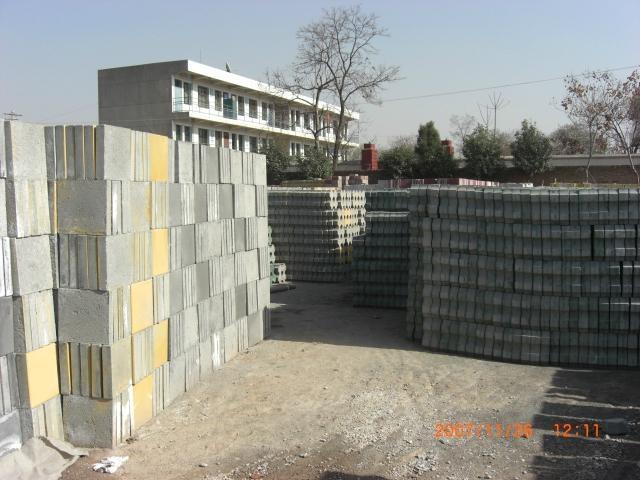 陝西生態環保停車場草坪磚 3