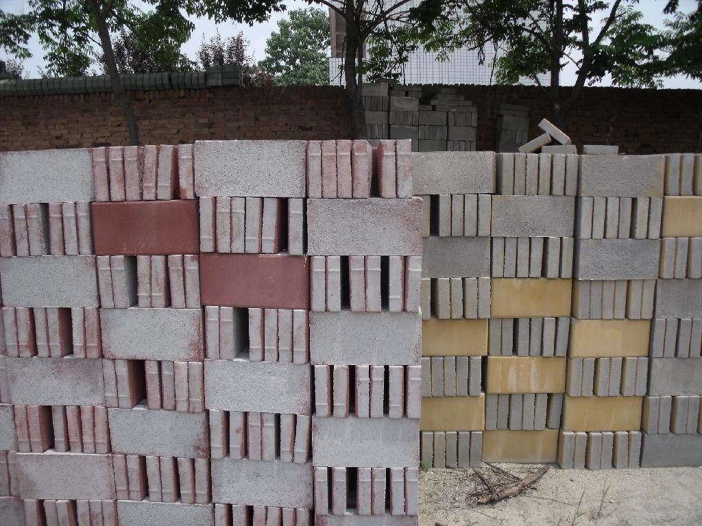 陝西生態環保停車場草坪磚 5