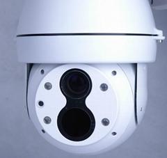 IP gimbal ball thermal visible imaging camera