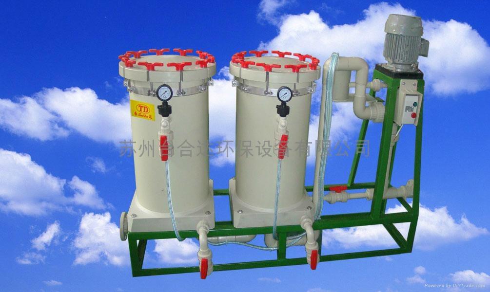 化學藥液雙桶過濾機 1